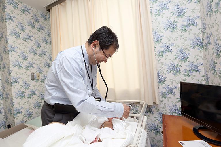 産前産後の入院について